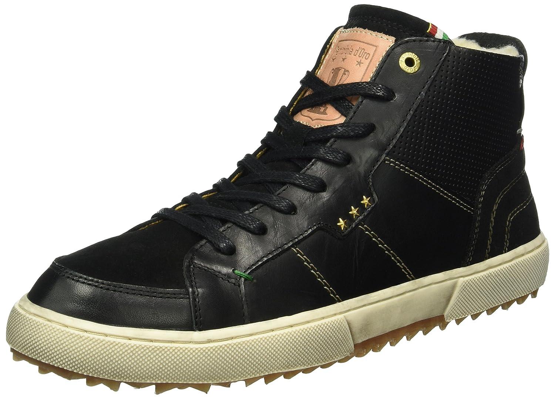 Ven a elegir tu propio estilo deportivo. Negro (negro .25y) 42 EU EU EU Pantofola d'oro Teco Pelliccia hombres Mid, Zapatillas para Hombre  Envío 100% gratuito