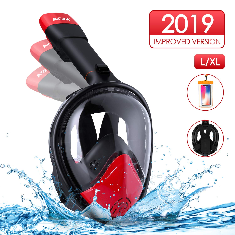 Maschera Subacquea, Snorkeling Maschera 180°