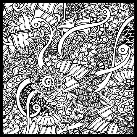 Amazon.com: Garden Doodle ColorMe! Wall Mural by Magic Murals ...