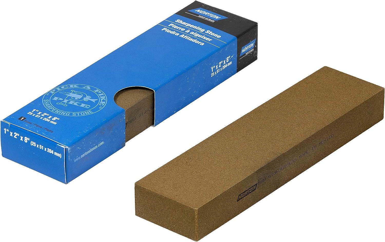 100 Kombination NORTON INDIA Kombinations-/Ölstein//Schleifstein//Wetzstein // Fein 203 x 51 x 25 mm K/örnung: Grob 320