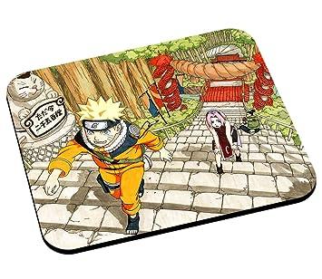 Alfombrilla de ratón Naruto Sakura Road gato manga Ninja ...