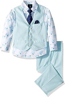 Steve Harvey Boys Four Piece Vest Set