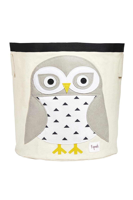 3 Sprouts Storage Bin, Snowy Owl UBNSNO