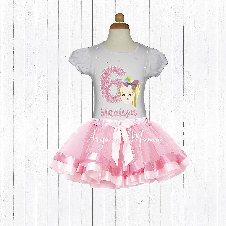 0c548a9ae7f4a Amazon.com: JoJo Siwa Birthday Shirt, JoJo Birthday Shirt, JoJo ...