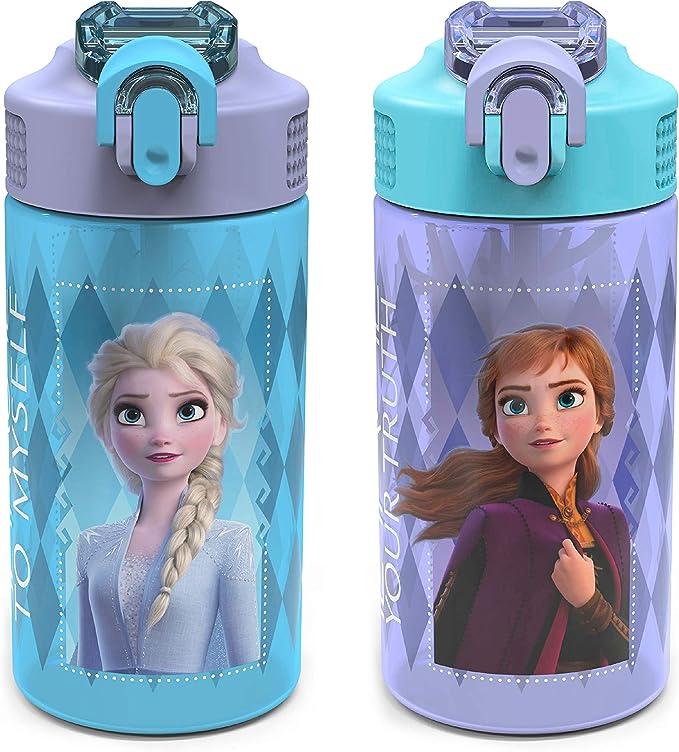 NEW Zak Disney FROZEN 2 Water Bottle Handle ELSA Travel Jug Dance Sports Cup II