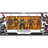 Overwatch Ultimates Carbon Series Figure 4 Pack -- Genji, Zarya, Pharah and D.Va – Kids Toys & Action Figures – Ages 4+