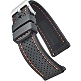 ALPINE Premium quality water proof silicone watch band strap with quick release – Sporty soft thick rubber watch band, Assort