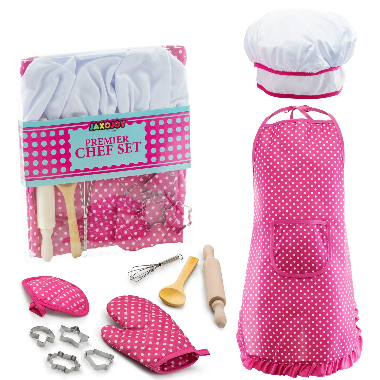JaxoJoy Complete Kids Cooking and Baking set