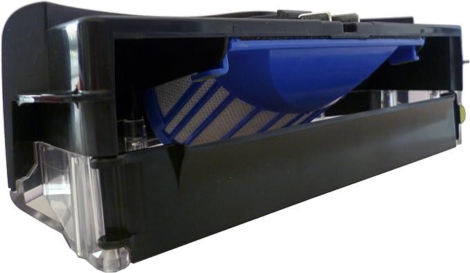 Irobot 21632 - Contenedor para robots aspiradores Roomba de la serie 500, con tecnología AeroVac: Amazon.es: Hogar