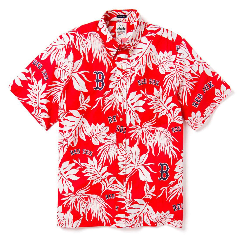 Reyn Spooner Men s Boston Red Sox MLB Classic Fit Hawaiian Shirt at Amazon  Men s Clothing store  4e1cb8fe6