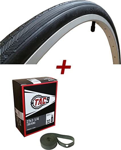 "27/"" inches x 1.25  Bicycle Tube Interior Bike Tire Inner tube 27 x 1  1//4  New"