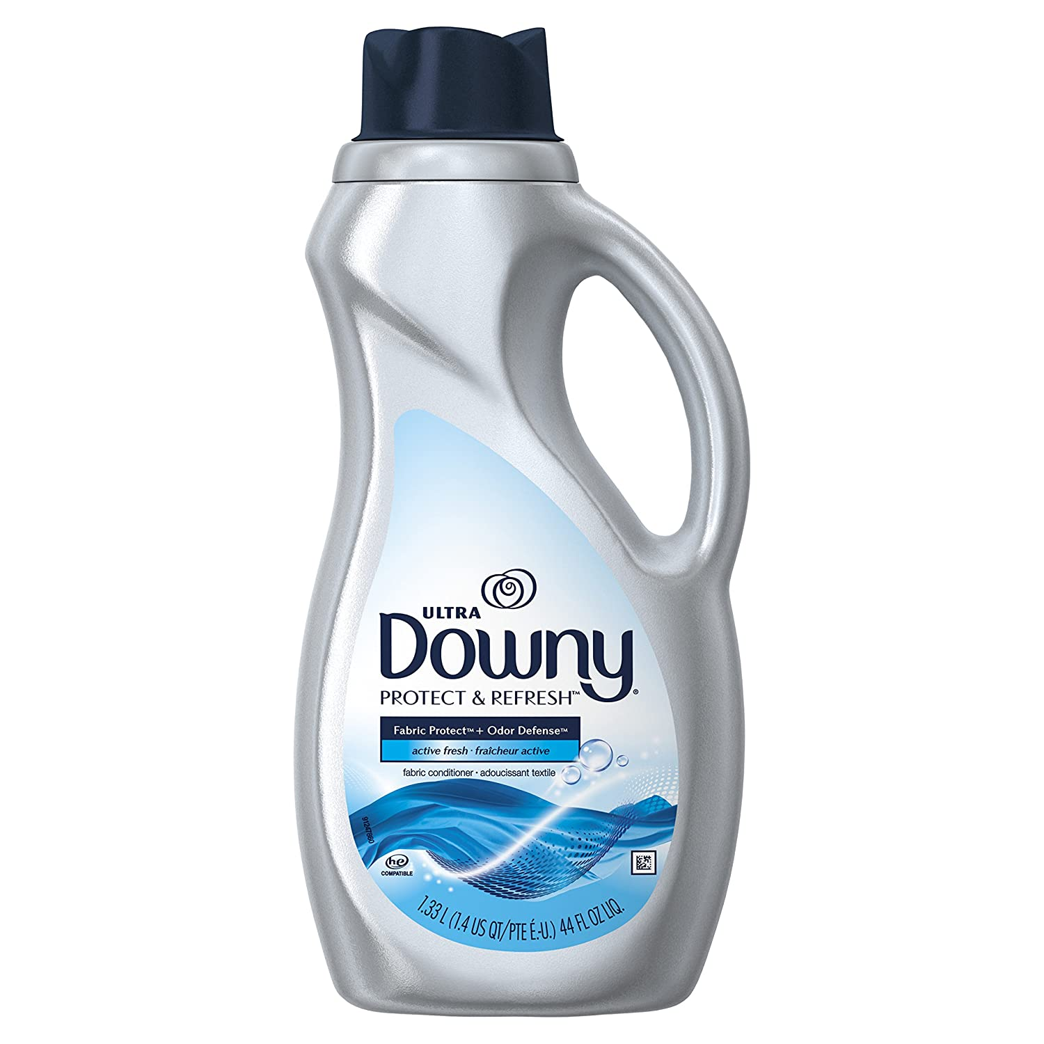 Downy Ultra Protect & Refresh Active Fresh Fabric Conditioner, 44 Fluid Ounce
