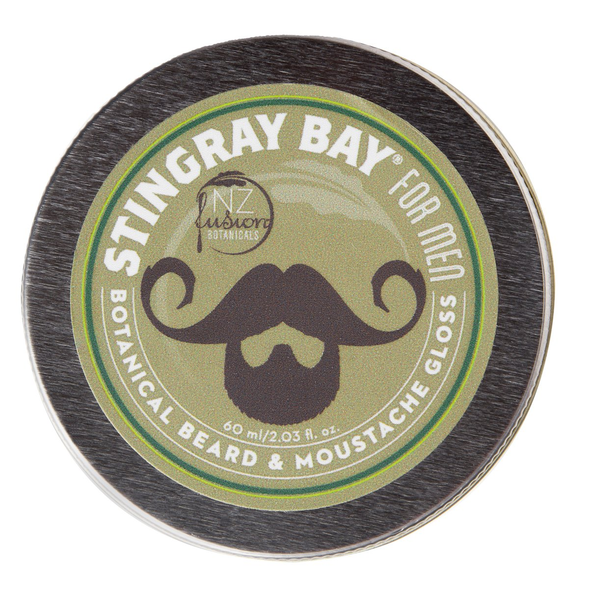 All-natural Botanical Beard and Moustache Gloss and Wax by Stingray Bay by Stingray Bay (Image #1)
