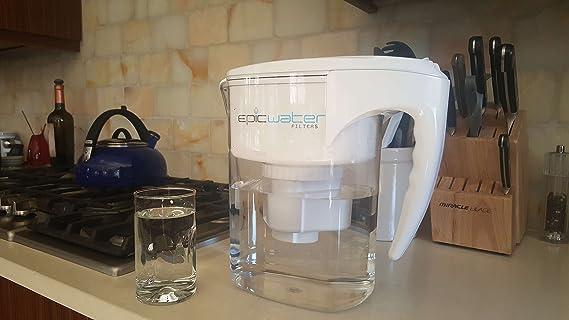 Epic esencial Filtro, upgraded Filtro para la épica Pure filtro de agua jarra/Aumenta el nivel A PH 9,5/quita fluoruro, radiación, plomo, cromo 6, ...