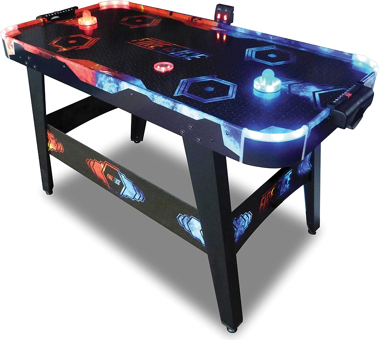Carromco Airhockey Fire VS Ice, Negro, Uni: Amazon.es: Deportes y ...
