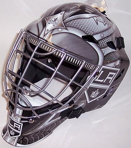 Amazon Com La Los Angeles Kings Nhl Full Size Youth Goalie Hockey
