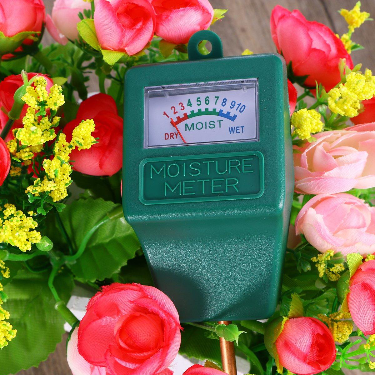 UEETEK Sensor de humedad Medidor de agua de suelo Monitor Higrómetro Sensor de humedad para jardín Granja Plantas de césped Interior Exterior: Amazon.es: ...