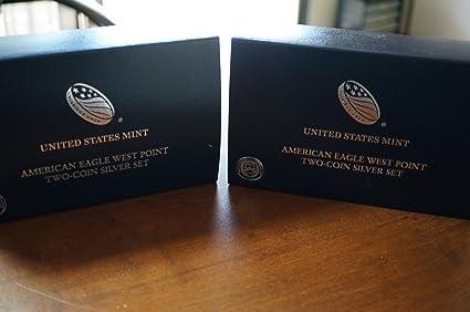 2013-W Proof $1 American Silver Eagle Box OGP /& COA No Coins