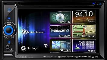 Clarion NX604 Negro 72W Bluetooth Receptor Multimedia para Coche - Radio para Coche (Negro,