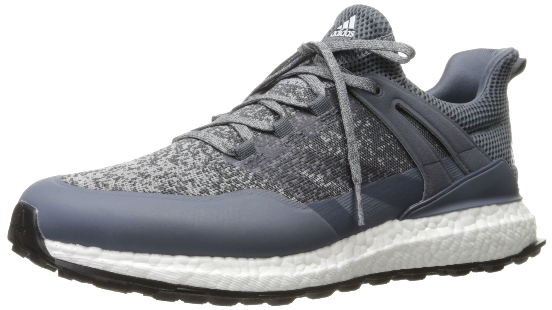 adidas Men's Crossknit Boost Golf Shoe, Grey, 8 M US
