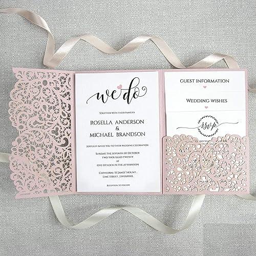 Partecipazioni Matrimonio Fai Da Te Modelli Da Stampare.Apribile Taglio Laser Inviti Matrimonio Fai Da Te Partecipazioni