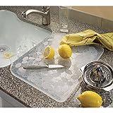 iDesign Pebblz Kitchen Dish Drain Board for