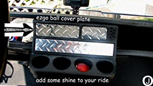 Ez-Go Diamond Plate Ball Cover