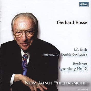 ボッセ&新日フィル/ブラームス:交響曲第2番 他 (Brahms : Symphony No. 2 etc. / Bosse & New Japan Philharmonic)