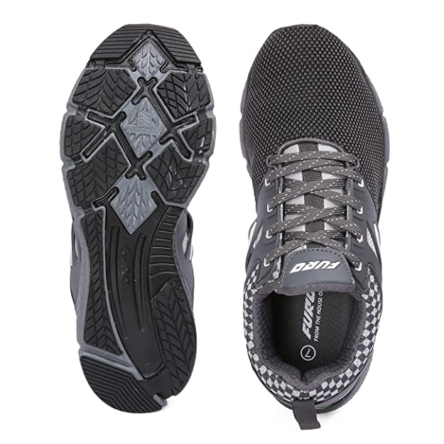 f8adca8ccf0 Furo Sport by Red Chief Grey Men s Running Shoes (R1017 832)  Buy Online at Low  Prices in India - Amazon.in