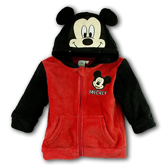 Rojo Meses Para 6 Niño Bebé Capucha Con 3 Rosso Disney Sudadera ZA7wY