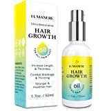Lumanere Hair Growth Serum Hair Growth Oil with Biotin – Natural Hair Growth Accelerator for Stronger, Thicker, Longer…