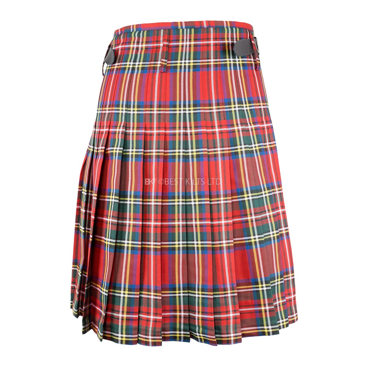 "Best Kilts Men's Scottish 5 Yard Party Kilt Royal Stewart 42""-44"" by Best Kilts (Image #3)"
