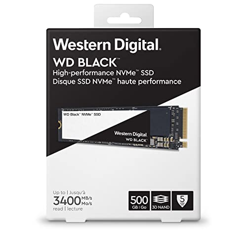 WD Black NVMe ssd for gaming