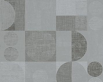 Livingwalls Vliestapete Titanium Tapete im Retro Style 10,05 m x 0 ...