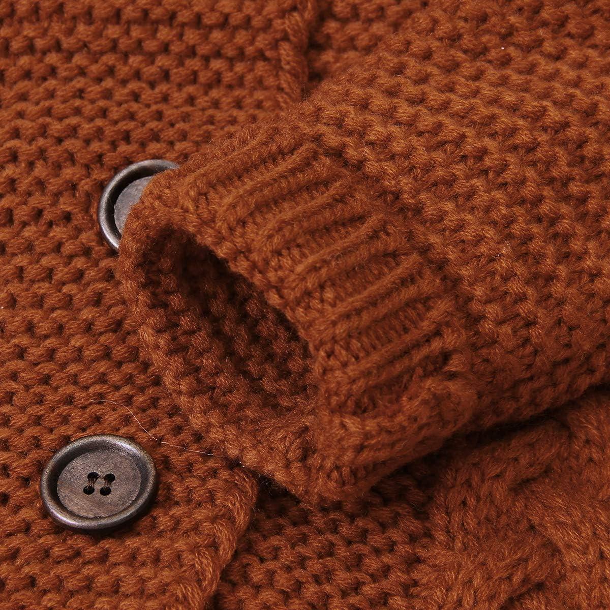 DaMohony Neugeborenes Baby Strick Overall Kleinkind Jungen M/ädchen Langarm Bodysuit mit Hut f/ür 3-24 Monate