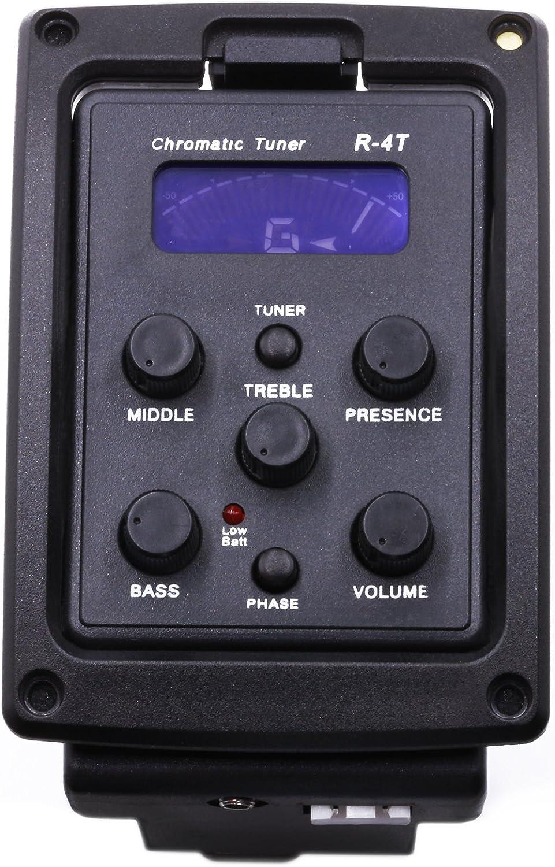Controllo volume 7545R Pickup per chitarra acustica Preamplificatore per chitarra Chitarra acustica Musicista professionista per chitarre classiche Appassionati di chitarra Chitarre folk