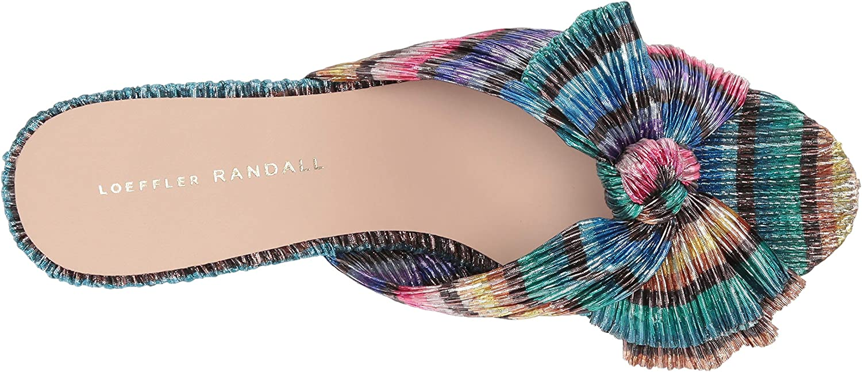 Loeffler Randall Womens Emilia-pla Slide Sandal