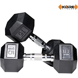 KORE DM HEXA COMBO16 Dumbbells Kits