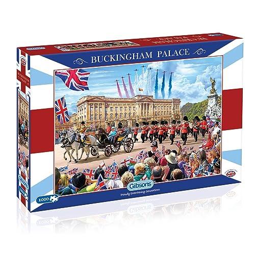 Gibsons Buckingham Palace Jigsaw Puzzle, 1000 piece