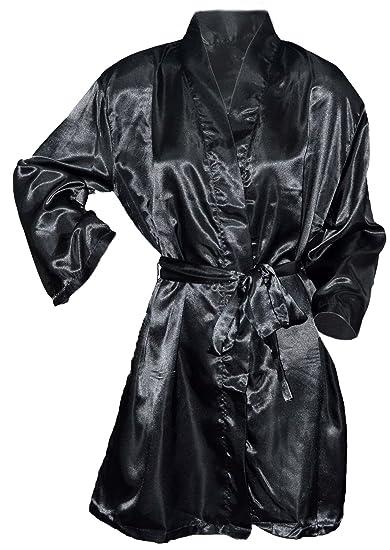 Octave Ladies Luxury Summer Sexy Satin Kimono Robe Wrap Dressing