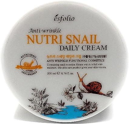 esfolio Nutri caracol antiarrugas crema de día por esfolio ...