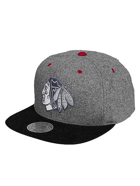 59f33116cea9c Mitchell   Ness Mujeres Gorras   Gorra Snapback Greyton Chicago Blackhawks