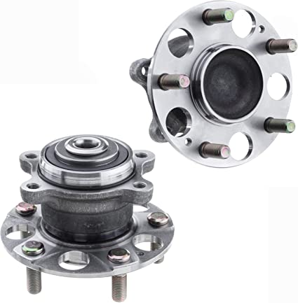 VW Passat Coupe 2008-2012 Rear Wheel ABS Hub Bearing Pair