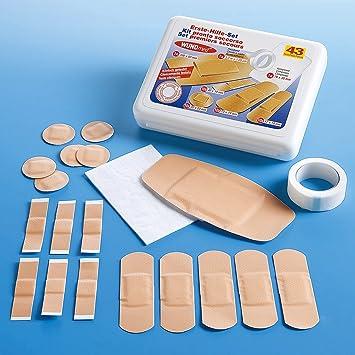 Wundmed - Caja de tiritas (43 unidades): Amazon.es: Salud y cuidado personal