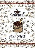 Coorgest Filter Coffee Powder (City Roast) - 500g