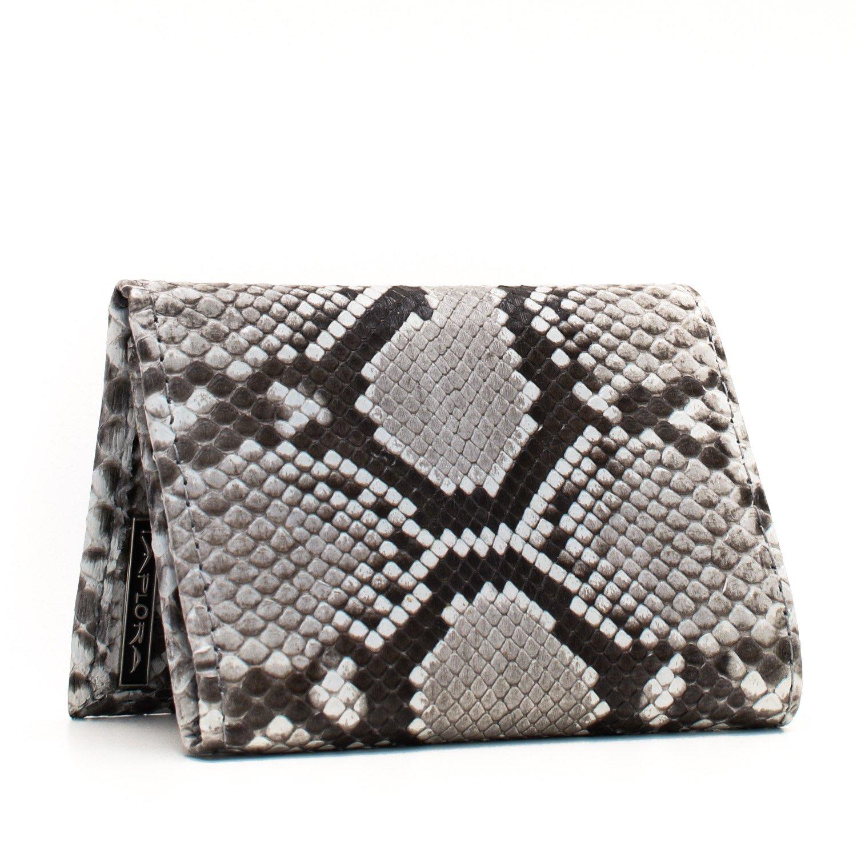 Implora Genuine Python Snakeskin Leather Trifold Wallet
