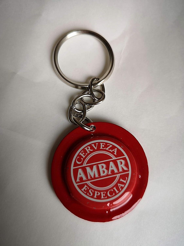 Llavero AMBAR ROJA: Amazon.es: Handmade