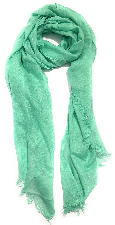 Trussardi Jeans - Pashmina - para mujer Verde Verde Talla única