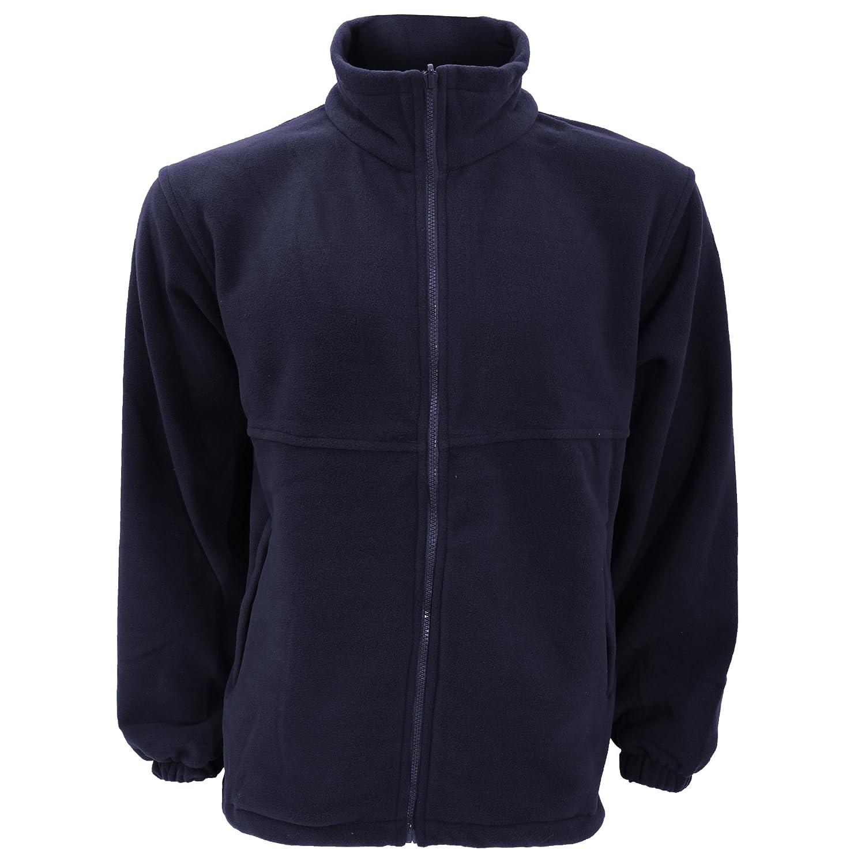 Ultimate Clothing Collection UCC Unisex Full Zip Polar Fleece Jacket