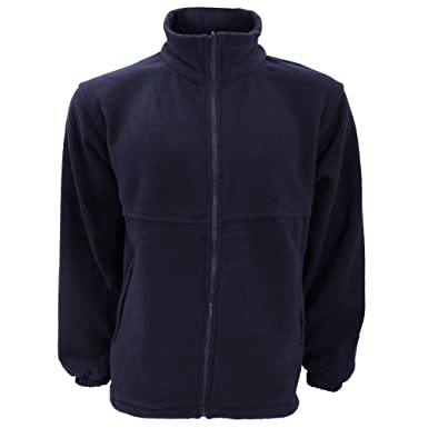 UCC Unisex Full Zip Polar Fleece Jacket at Amazon Men's Clothing ...